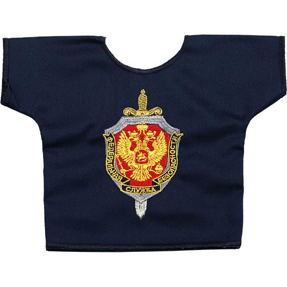 Рубашка-сувенир ФСБ вышивка