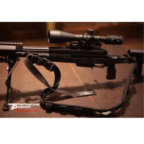 Ремень тактический оружейный оливковый универсальный Долг-М3 (погон)