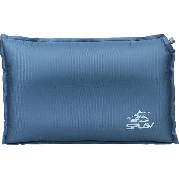 Подушка самонадувная анатомическая v.2 (синий)