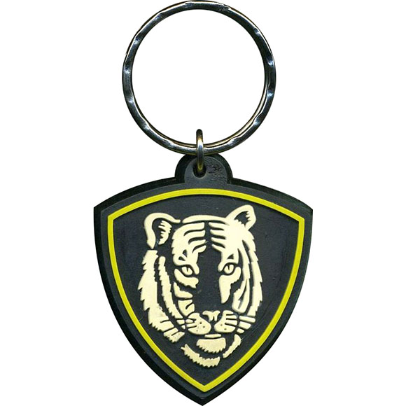 Брелок ВВ Тигр резинопластик