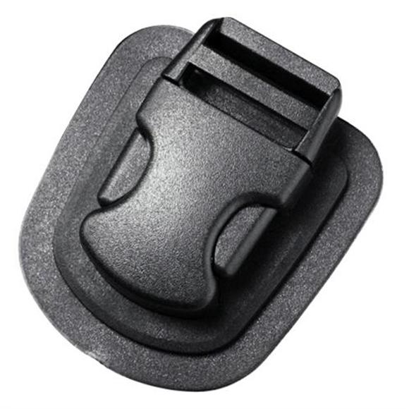 Пряжка фастекс на подложке 25 мм 1-06358/1-20157 (2 части) одна регулировка черный Duraflex