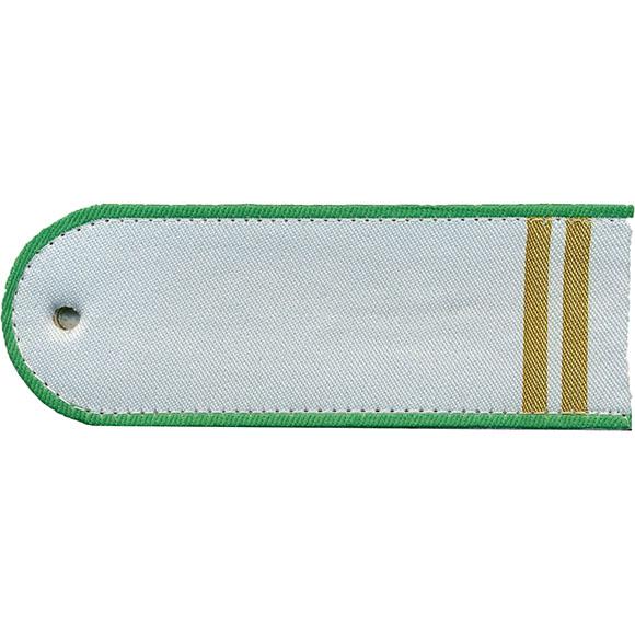 Погоны Росприроднадзор 2 лычки белые тканые