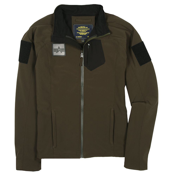 Куртка Robinson soft shell Alpha Industries M-65 olive