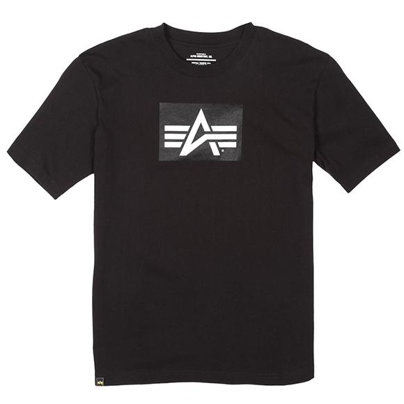 Футболка Logo Block Alpha Industries black