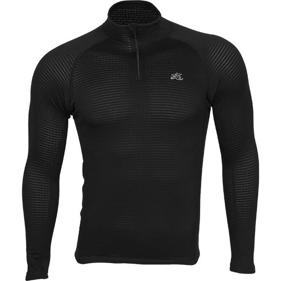 Термобелье Циклон футболка L/S черная