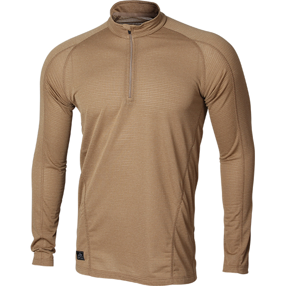 Поло Polartec Power Grid L/S coyote brown