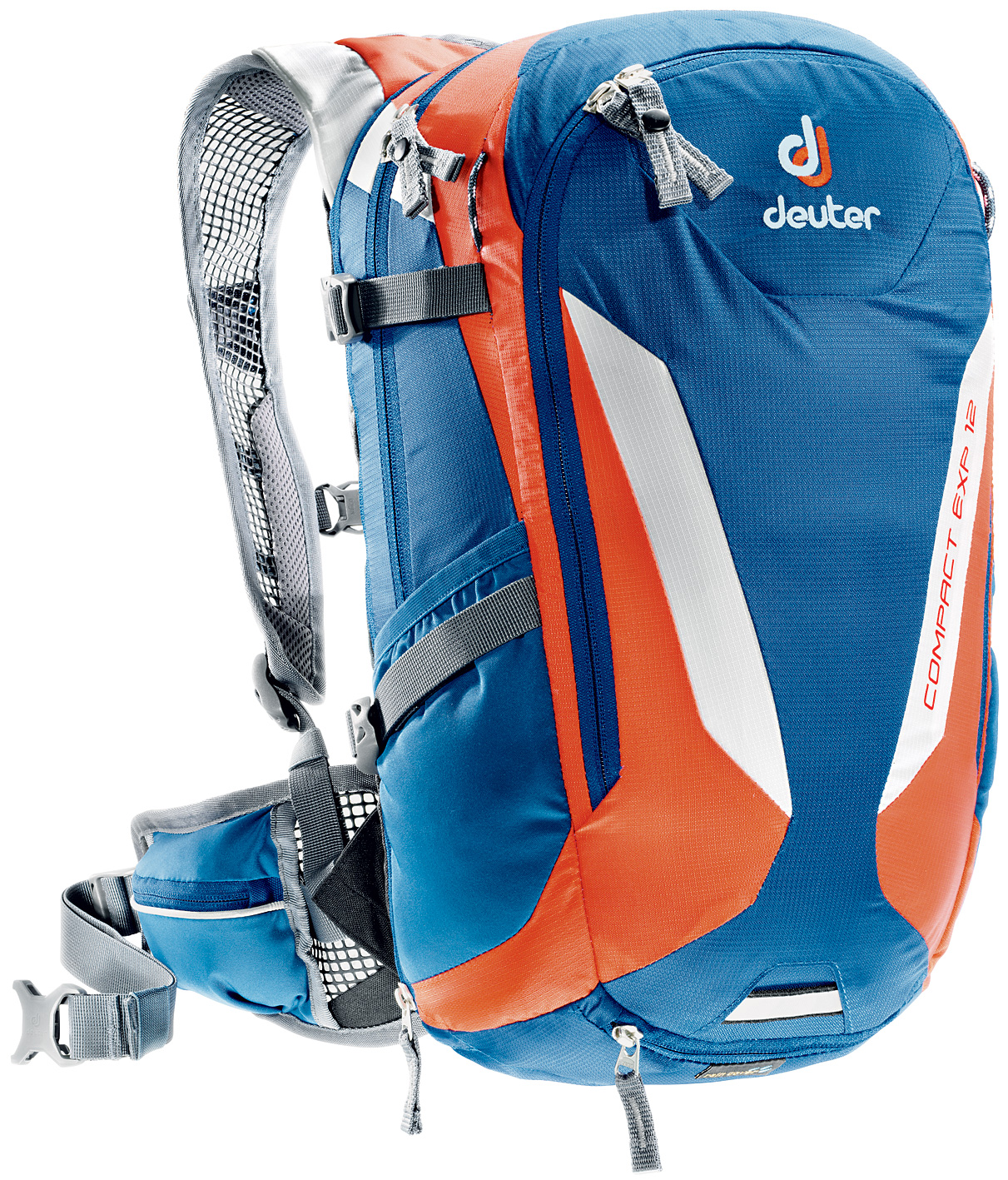 Рюкзак Deuter 2015 Bike Compact EXP 12 steel-papaya