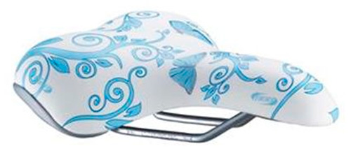 Седло BBB saddle sports DesignComfort butterfly blue (BSD-47)
