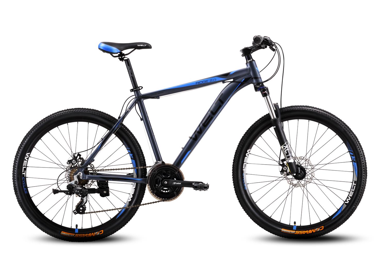 Велосипед Welt Ridge 2.0 D 2016 matt grey/blue