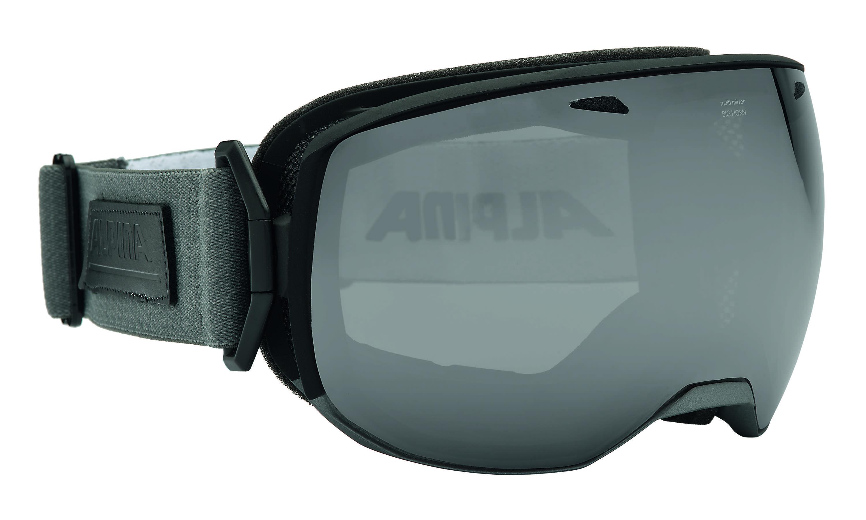Очки горнолыжные Alpina BIG HORN MM black-grey _MM black S3