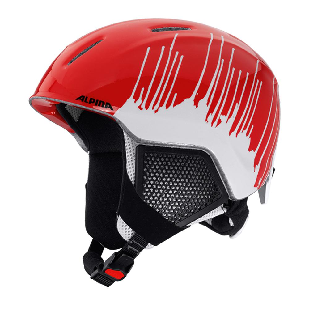 Зимний Шлем Alpina CARAT LX red-splash