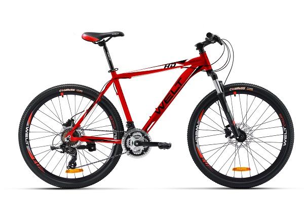 Велосипед Welt Ridge 1.0 HD 2016 matt red/black