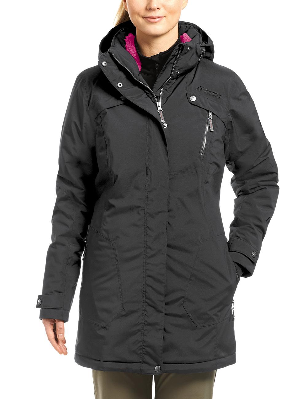 Пальто для активного отдыха MAIER 2016-17 MS comfort Priora black