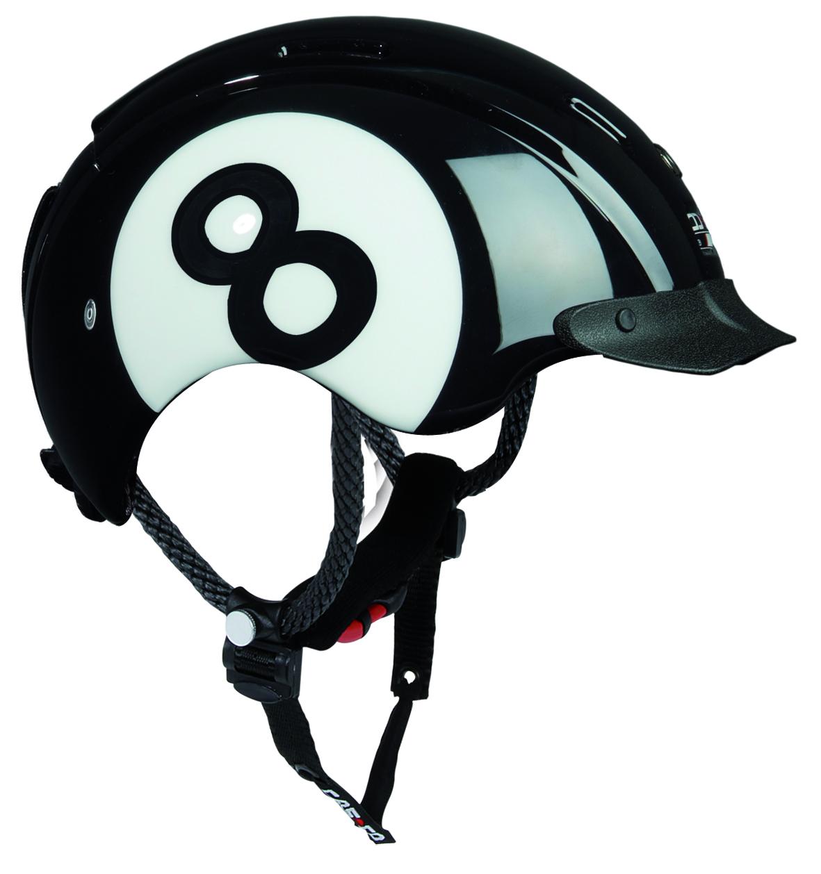 Летний шлем Casco YOUTH & KIDS Young Generation black white