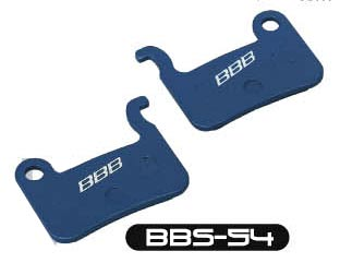 Тормозные колодки BBB DiscStop comp.w/Shimano XTR M975, M966,M965, XTM775, M765, SLX M665, LX M585, Deore M535, Saint M800 and Hone M601 (BBS-54)