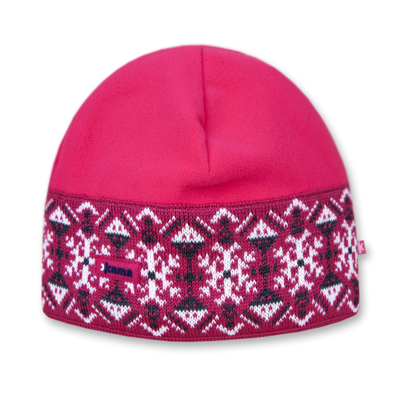Шапка Kama A90 pink