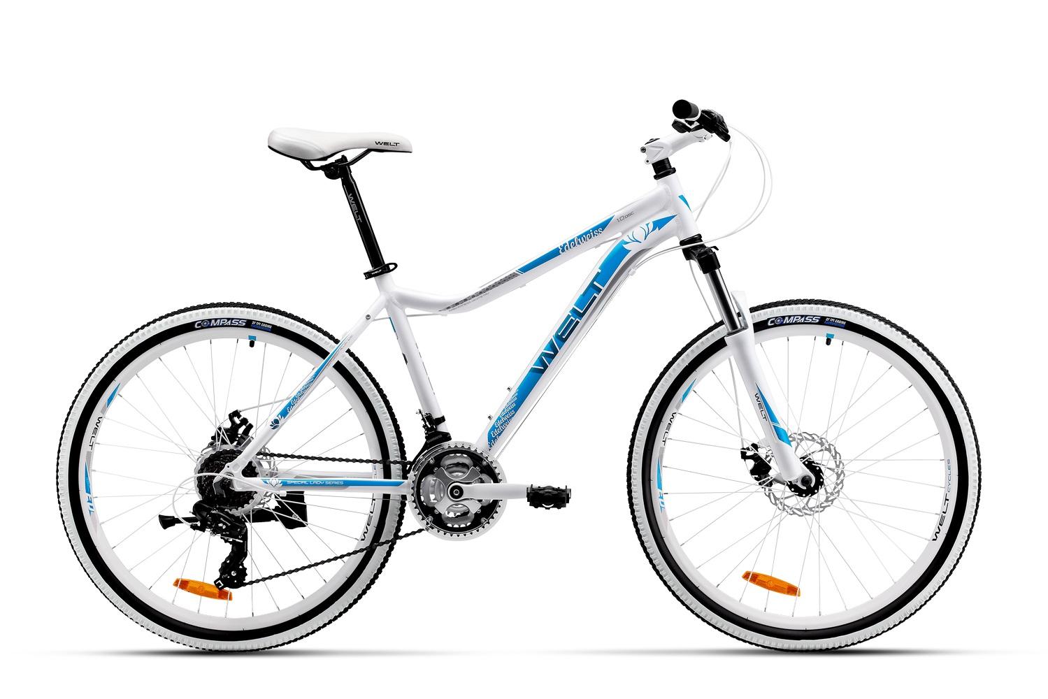 Велосипед Welt Edelweiss 1.0 D 2016 white/blue/