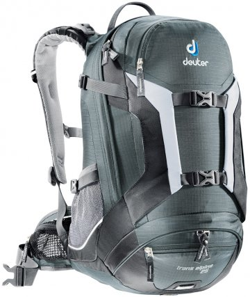 Рюкзак Deuter 2015 Bike Trans Alpine 25 granite-black