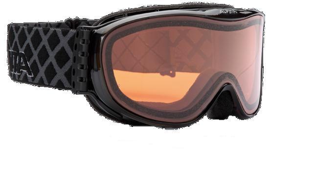 Очки горнолыжные Alpina Challenge S 2.0 DH black transparent_DH S2