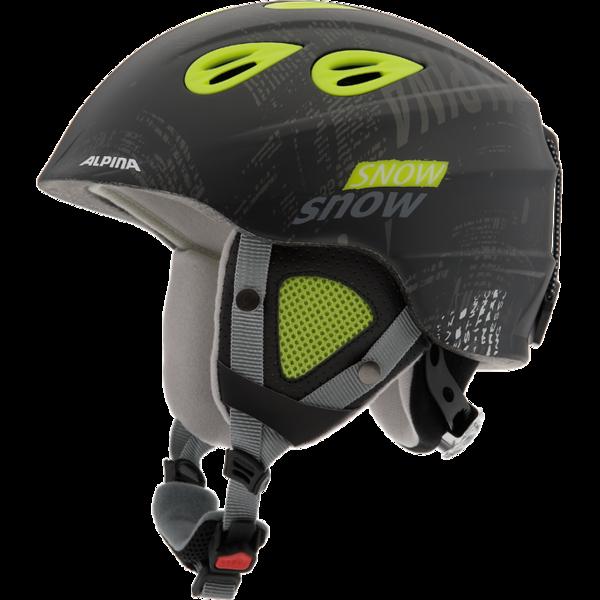 Зимний Шлем Alpina GRAP 2.0 JR black-yellow