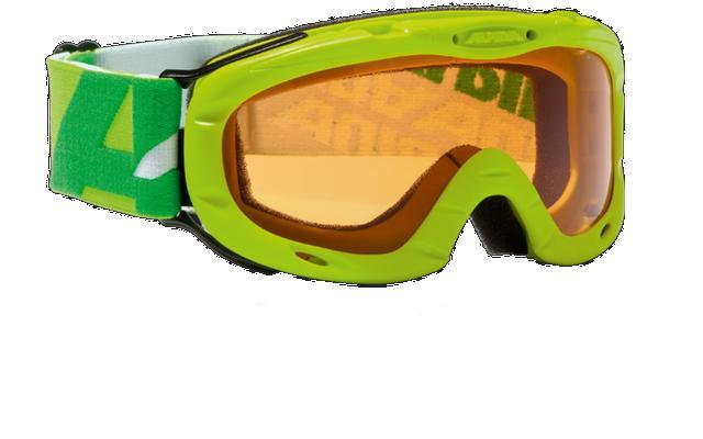 Очки горнолыжные Alpina Ruby S lime_SH S1