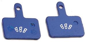 Тормозные колодки BBB DiscStop comp.w/Shimano Deore mechanic M515, M495, M475, M465, M416, Nexave C501, C601, RST D-power, Tektro Aquila (BBS-52)
