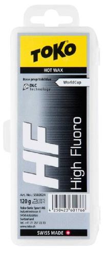 Универсальный парафин TOKO TRIBLOC TRIBLOC HF DLC (черная с молибденом, базовая 120 гр.)