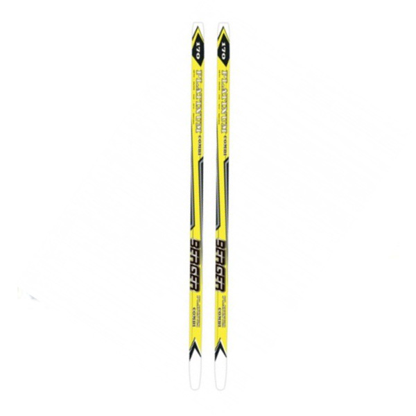 Беговые лыжи KARJALA 2014-15 Platinum combi BERGER wax желтый