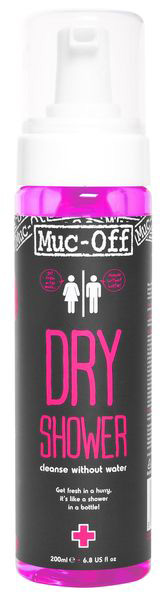 Сухой душ MUC-OFF 2015 DRY SHOWER, 200мл.