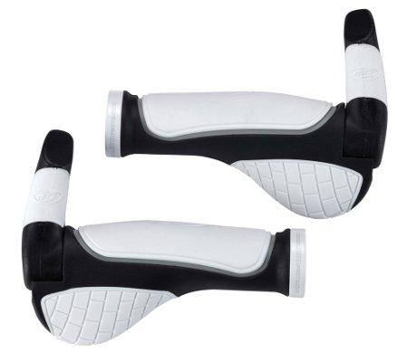 Грипсы BBB Fixset (Interfix grip and InterBar barends 65mm) white (BHG-48M)