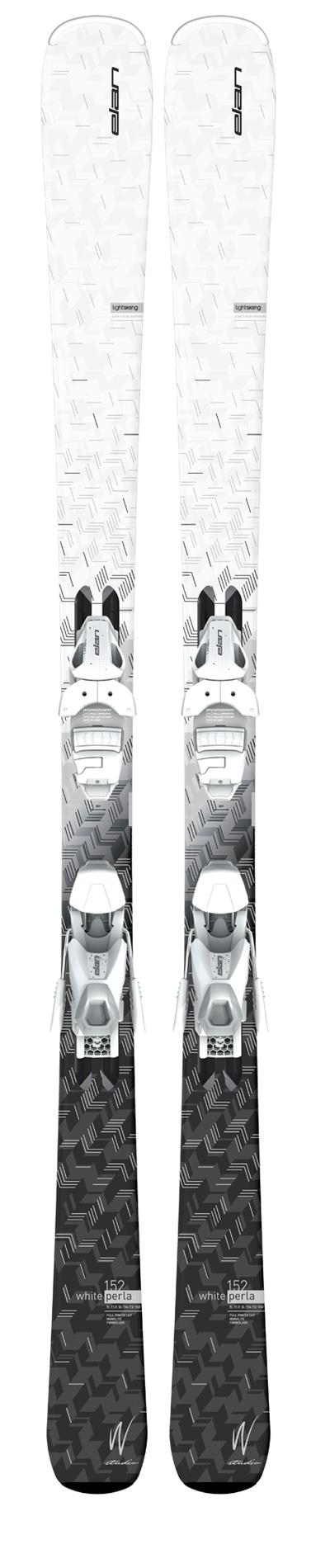 Горные лыжи с креплениями Elan 2016-17 WHITE PERLA LS EL 7.5