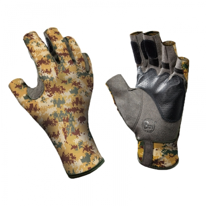 Перчатки рыболовные BUFF Angler Gloves BUFF ANGLER II GLOVES BUFF PIXELS DESERT M/L