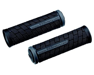 Грипсы BBB DualGrip 102mm black/grey (BHG-07)