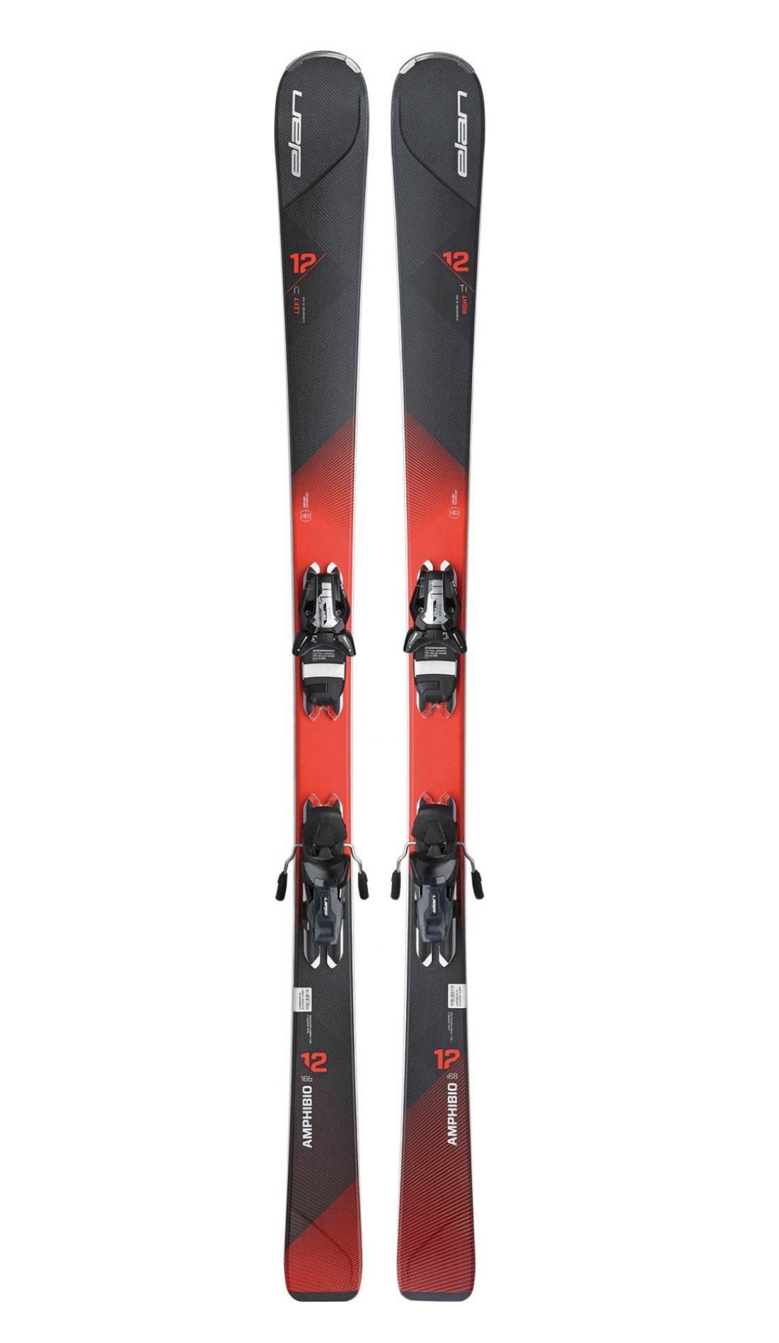 Горные лыжи с креплениями Elan 2016-17 AMPHIBIO 12 TI PS ELS11.0