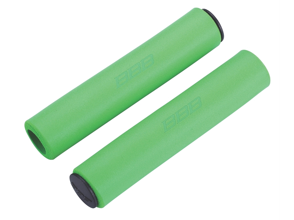 Грипсы BBB 2015 grips Sticky 130mm green (BHG-34)