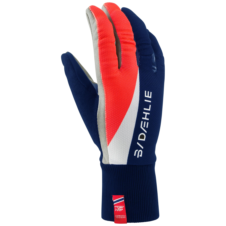 Перчатки беговые Bjorn Daehlie 2016-17 Glove CLASSIC Olympian Blue