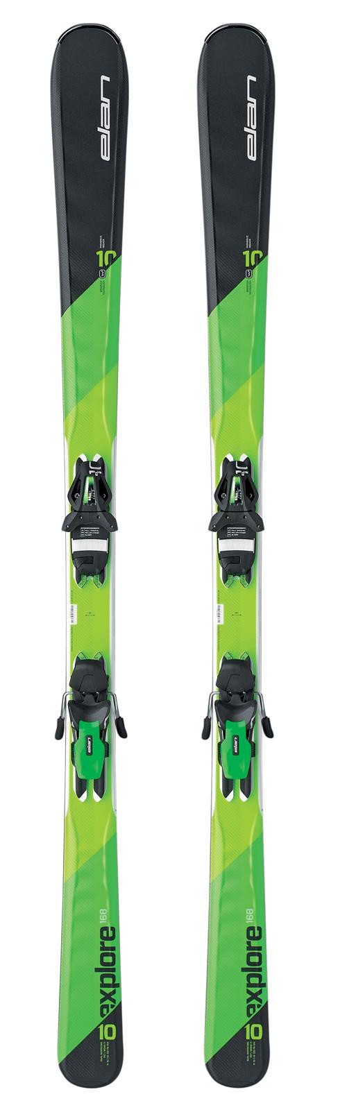 Горные лыжи с креплениями Elan 2016-17 EXPLORE 10 TI PS EL10.0