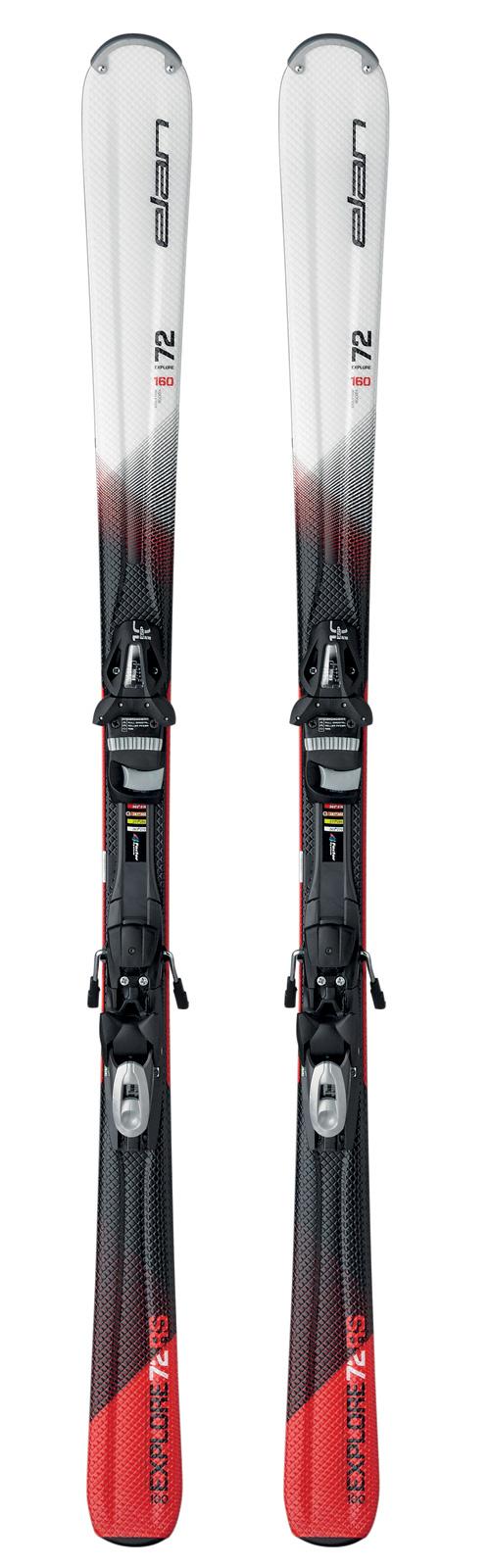 Горные лыжи с креплениями Elan 2016-17 EXPLORE 72 RS TRACK ESP10