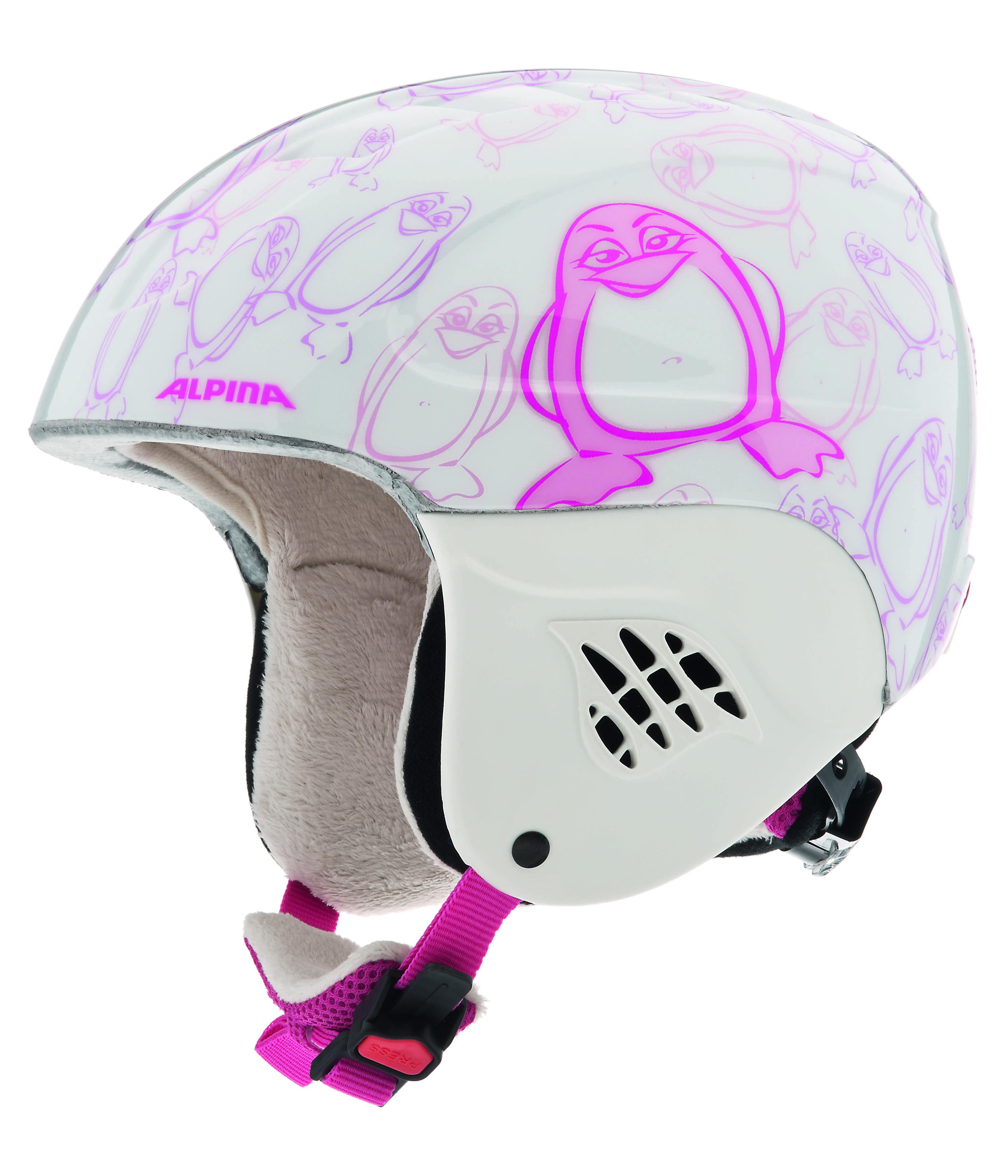Зимний Шлем Alpina CARAT happy-pinguin