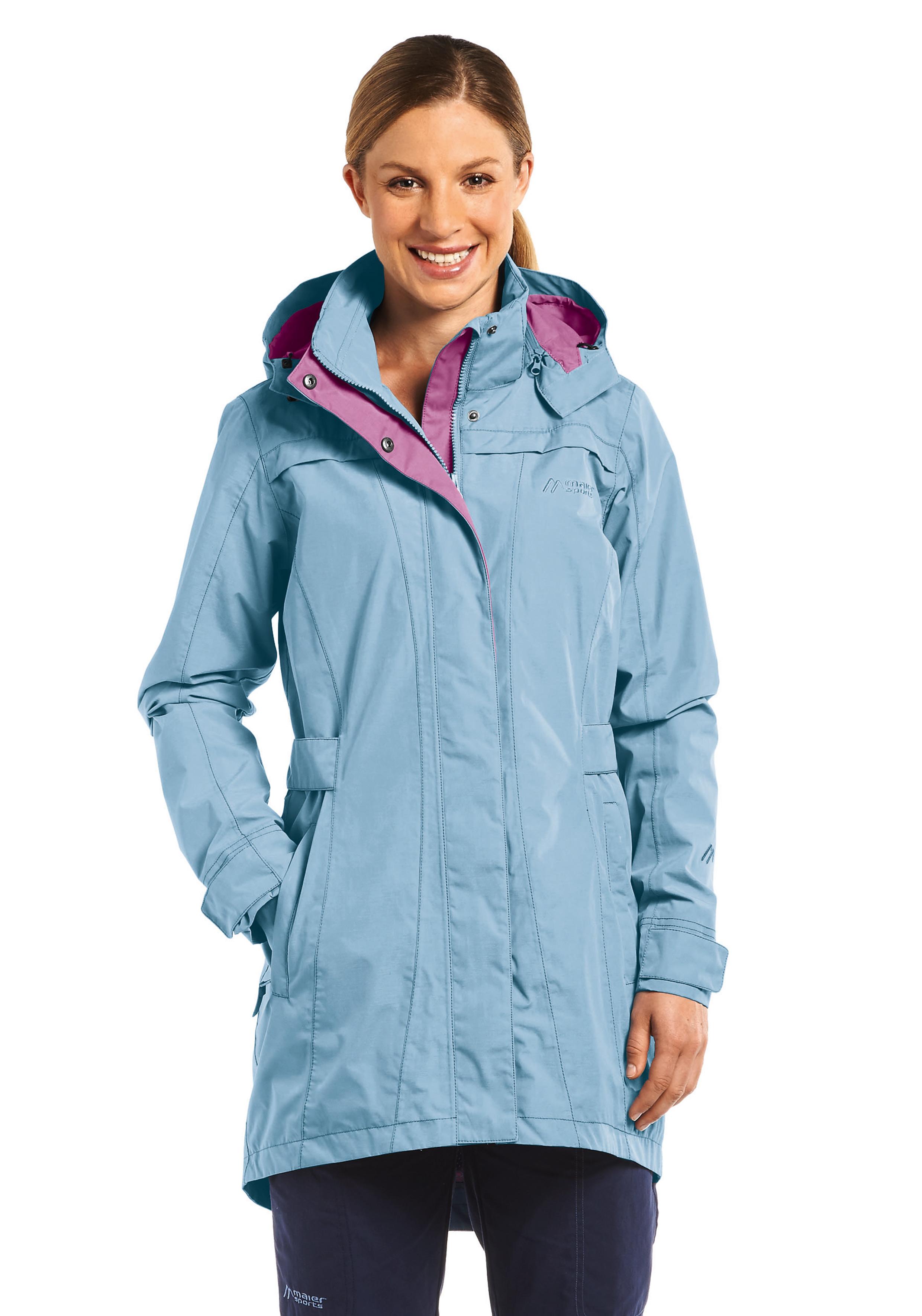 Пальто для активного отдыха MAIER 2016 MS comfort Madelen blue heaven