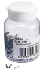 Трос BBB derailleur cable end cap CableEnd 500 pcs. Derailleur 1.1mm (BCB-61D)