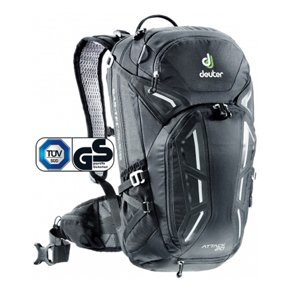 Рюкзак Deuter 2016-17 Attack 20 black - артикул: 690830283