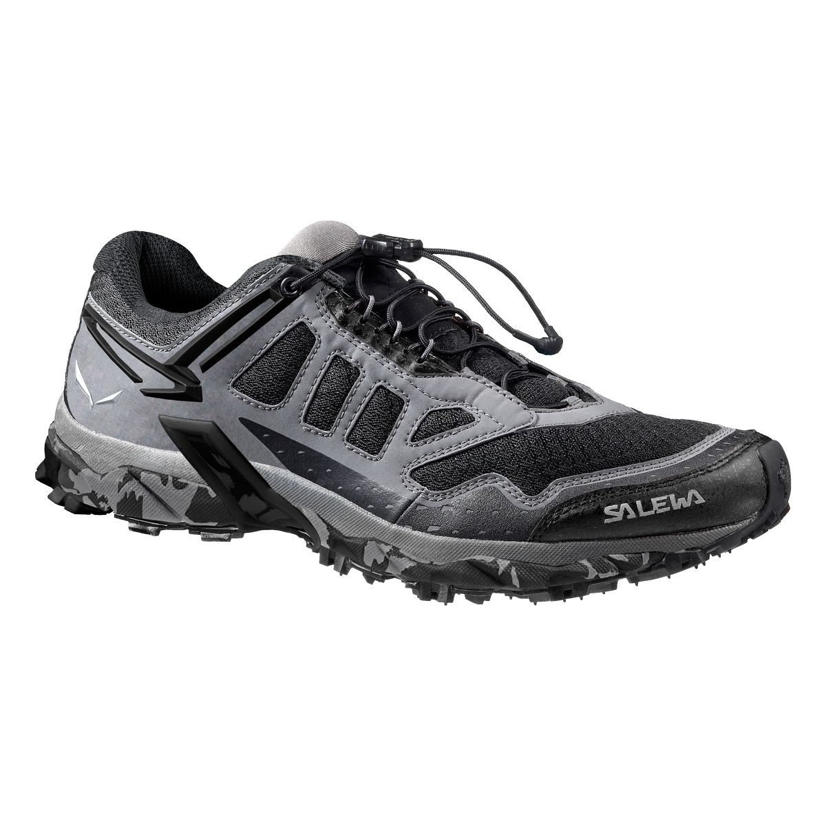 Треккинговые кроссовки Salewa 2016 Mountain Training MS ULTRA TRAIN Asphalt/Black