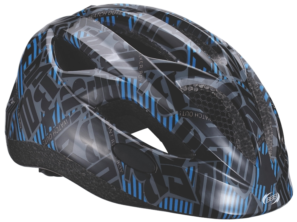Летний шлем BBB 2015 helmet Hero (flash) racing Black/blue (BHE-48)