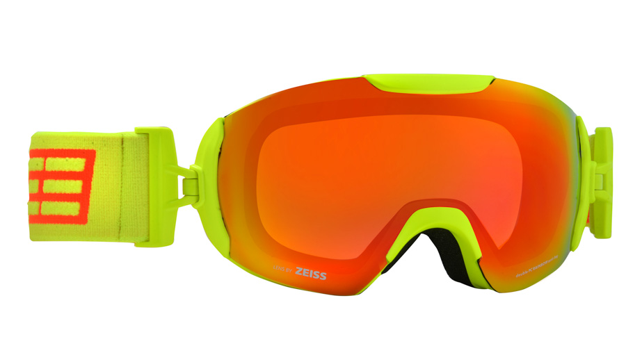 Очки горнолыжные Salice 2016-17 604DARWF YELLOW/RW CLEAR