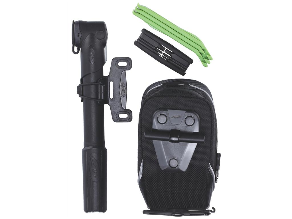 Велосумка BBB 2015 set CombiPack M (storepack M +btl-42S+btl-81 green+bmp-24) (BSB-52)