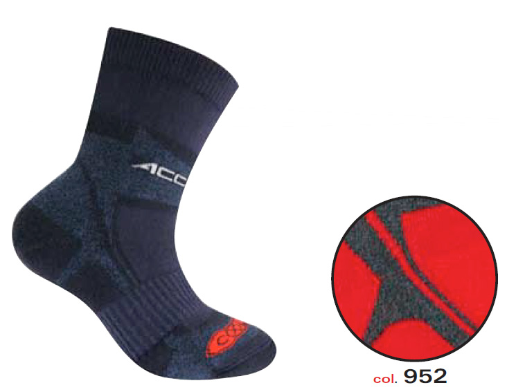 Носки ACCAPI SOCKS TREKKING ULTRALIGHT JR red (красный)