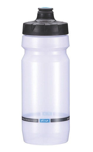 Фляга вело BBB 550ml. AutoTank autoclose clear/silver (BWB-11)