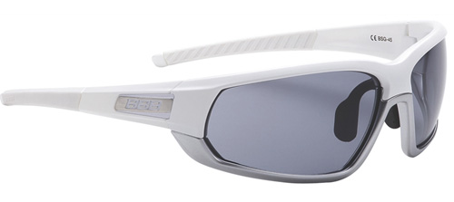 Очки солнцезащитные BBB Adapt Fulframe PC Smoke lenses matt white matt chrome (BSG-45) - артикул: 688570413