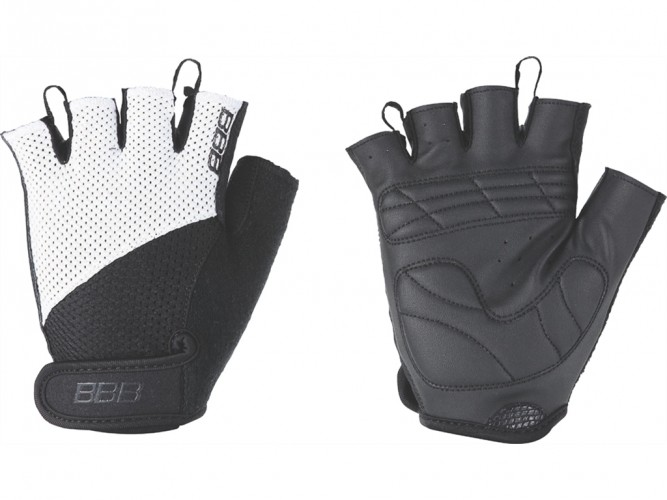 Перчатки велосипедные BBB Chase black/white (BBW-49)